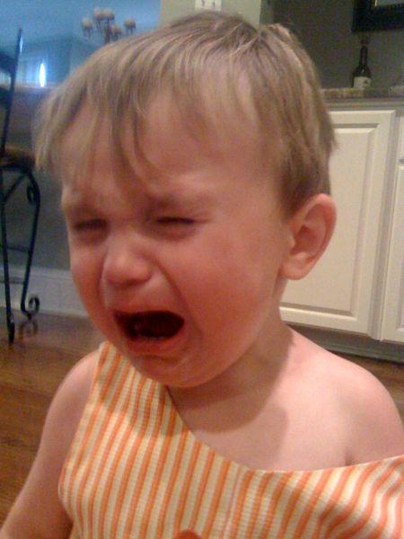 Maes crying