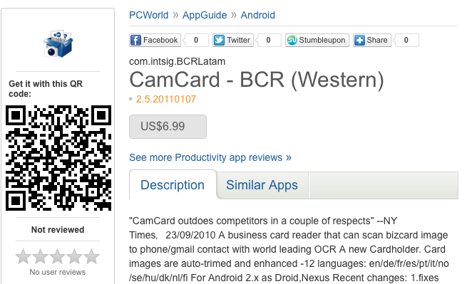 Great QR Code Marketing Example