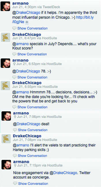 The Drake Twitter Engagment with David Armano