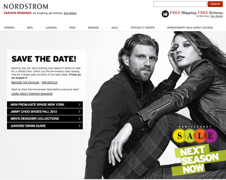 Nordstrom Closes for business