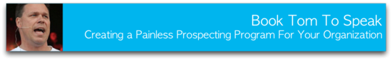 Painless Prospecting Keynote Speaker Banner