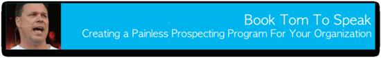Painless Prospecting Keynote Speaker Banner