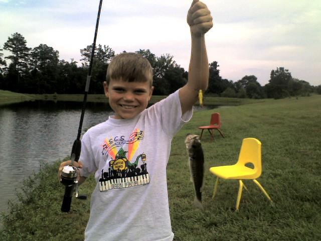 Davis' first fish